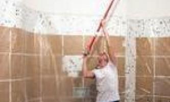 Чим пофарбувати стелю у ванній
