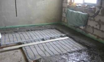 Робимо теплі електричні підлоги під ламінат і плитку своїми руками