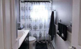 До і після ремонту: елегантний інтер`єр маленької ванної кімнати