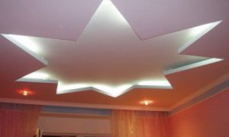 Дворівневі стелі з гіпсокартону - фото приміщень зроблених своїми руками
