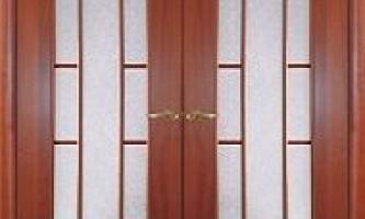Двостулкові міжкімнатні двері