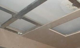Гіпсокартонні конструкції на стелі - міцне стельове покриття своїми руками