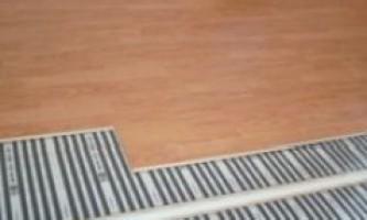 Інфрачервоний плівковий тепла підлога