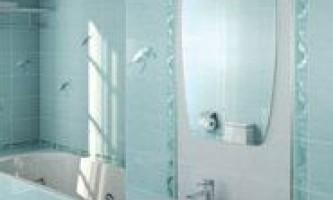 Інтер`єр ванної кімнати: плитка