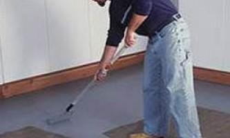 Зносостійка фарба для підлоги - поради щодо вибору від фахівців