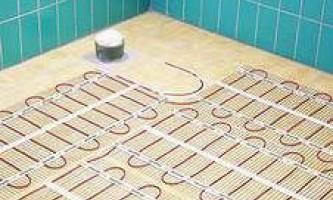 Кабельний тепла підлога - як укласти самому
