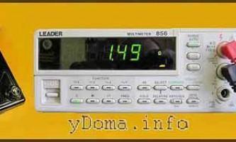 Як вимірювати напругу вольтметром