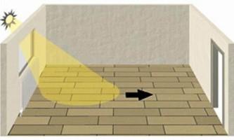 Як класти ламінат - уздовж або поперек: поради фахівців
