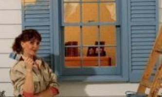 Як фарбувати дерев`яні вікна?