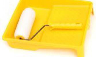 Як очистити валик від фарби