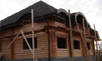 Як побудувати будинок з оциліндрованих колод в чувашії