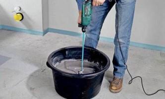 Як зробити розчин для стяжки підлоги і укласти його своїми руками