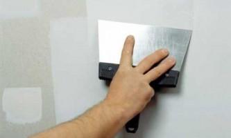 Як шпаклювати стіни
