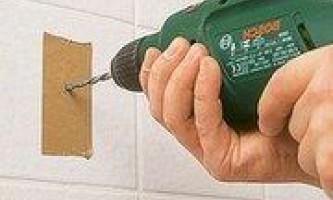 Як свердлити кахельну плитку