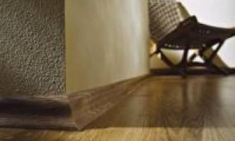 Як встановити підлогові плінтуси