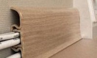 Як вибрати і кріпити підлоговий пластиковий плінтус