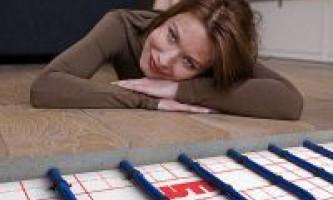 Як вибрати тепла підлога