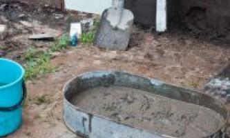 Як замішувати цемент