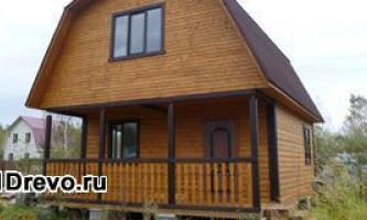 Яка обробка потрібна для дерев`яного будинку зі зрубу