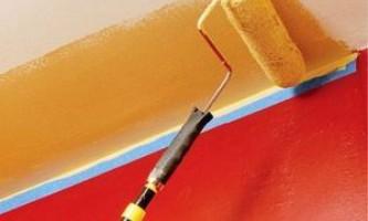 Яким валиком краще фарбувати стелю - всі нюанси фінішної обробки