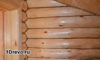 Який матеріал використовувати для фарбування зрубу зсередини