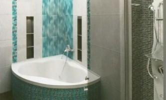 Маленька ванна: дизайнерські хитрощі