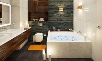 Міні-басейн у ванній. Оригінальний проект санвузла