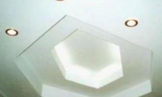 Монтаж підвісної стелі з гіпсокартону - нюанси установчого процесу