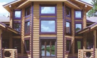 Монтуємо вікна в дерев`яному будинку