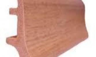 Підлоговий плінтус з пвх - особливості установки