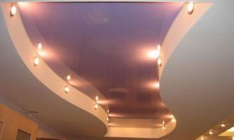 Натяжні стелі: сучасно і стильно