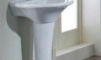 Огляд, фото і установка раковини тюльпан