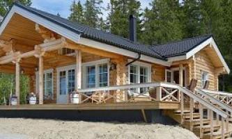 Оциліндрована колода в карелії: житлове будівництво з північного лісу