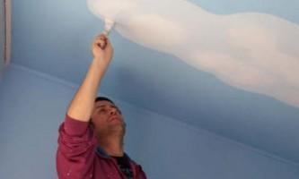 Оздоблення стелі: підготовка поверхні