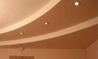 Оздоблення стельових поверхонь гіпсокартоном - технологія і послідовність процесу