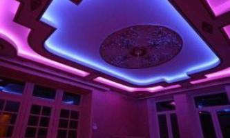 Світлодіодна стрічка під натяжною стелею - економне освітлення приміщення
