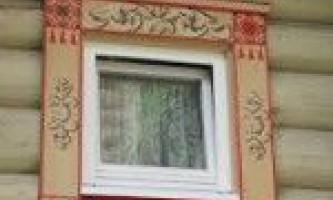 Пластикові лиштви для євро- вікон