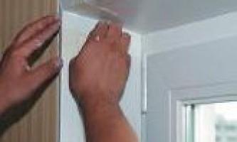 Пластикові віконні укоси