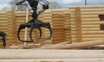 Будівлі в самарі з оциліндрованих колод: будинки, зруби і лазні