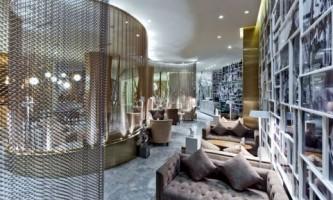 Приголомшливий дизайн інтер`єру лобі китайського готелю