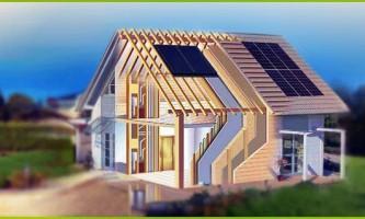 Каркасно-щитові будинки - проекти та кращі варіанти