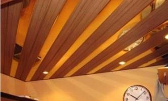 Рейкові стелі для кухні