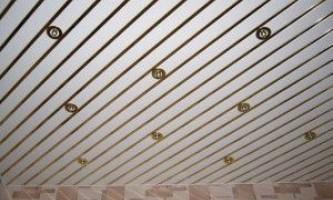 Рейкові стелі вітчизняних виробників - гідності, різновиди, особливості монтажу