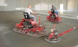 Шліфування бетонної підлоги: виконуємо процес правильно