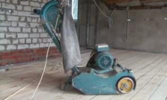 Шліфування дерев`яної підлоги