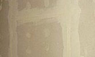 Шпаклівка стиків гіпсокартону