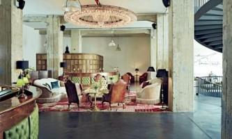 Стильний запам`ятовується інтер`єр п`ятизіркового готелю в берліні
