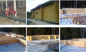 Будівництво будинків з оциліндрованих колод у владивостоці