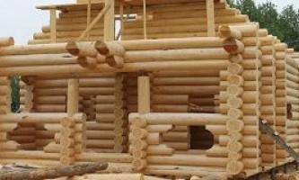 Будівництво будинків в орле з оциліндрованих колод