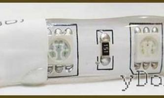 Світлодіодна стрічка - монтаж і установка